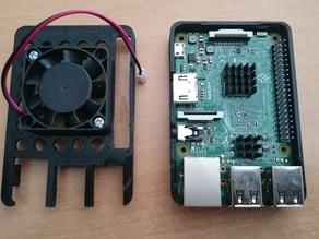 Raspberry Pi B+/Pi2 case for overclocking