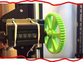 3D printer ATOM Filament travel counter