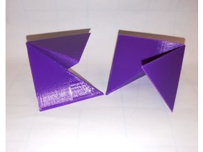 Regular Octahedron Dissection, Puzzle, Platonic Solid