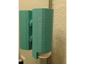 Cotton Pad Dispenser for Mirror