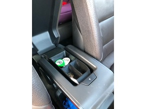 armrest organizer for BMW i3
