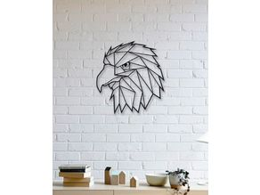 Eagle Wall Sculpture 2D