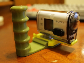 Sony Action Cam's action handle.