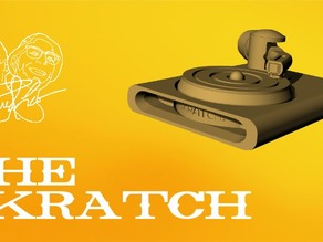 THE SKRATCH - Mini Turntable for Scratching