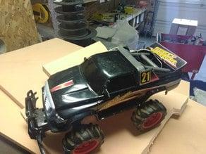 Radioshach RC Car battery lid