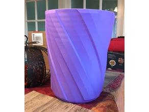 Vase Mode Trash Can / Dustbin