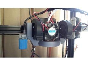 Tronxy X3 double 5015S fan with sensor