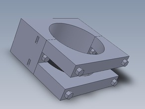 Dremel 200 Mount for CNC Z Axis