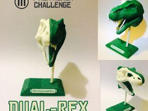 Dual Rex  Dual Extrusion T-Rex Remix