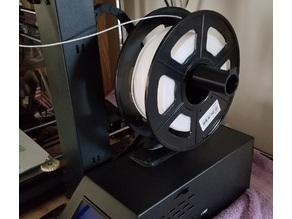 monoprice select / wanhao i3 spool holder on power supply