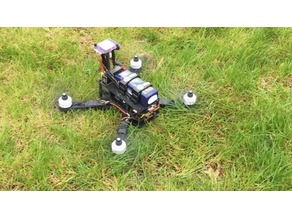 """The Flying Box"" - A 280mm Modular Quadcopter for 6"" Props"