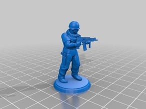 Modern Soldier - SMG