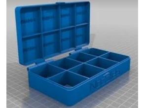 Nozzle organizer box