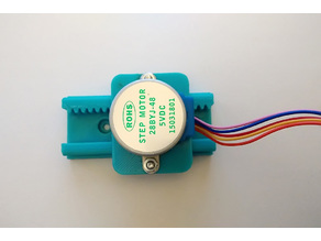 Linear mechanism for stepper motor 28BYJ-48