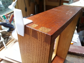 Parametric dovetail template