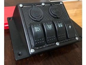 Pioneer 700 Switch Panel