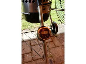 Support for Weber iGrill2 on Weber Grill