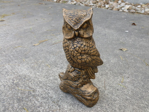 Owl Statue 2