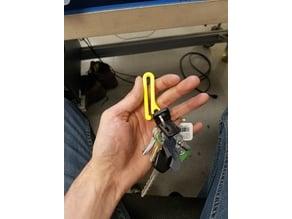 Key Ring Belt Clip