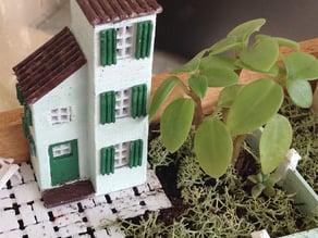 Miniature house mediterranean 4