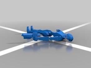 Low-ploy Commando droid (clone wars)