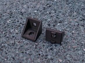 90 Degree corner bracket for 30x30mm Alluminium T-Slot extrusion