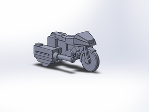 GI Joe R.A.M. motorcycle