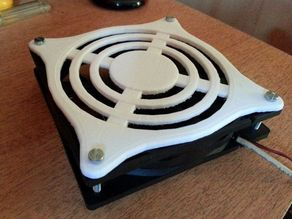 12cm fan grill protector