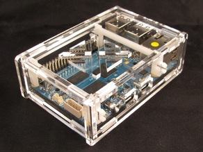 Odroid C1/3.2inch TFT+Touchscreen Shield Case