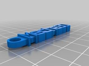 Mecha3D keychain
