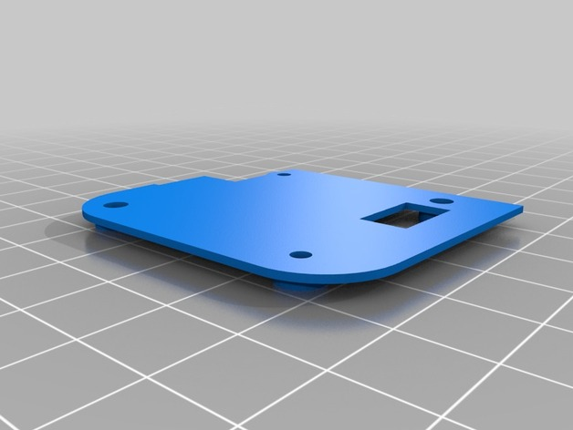 3DR Solo GPS cover by Tunames - Thingiverse