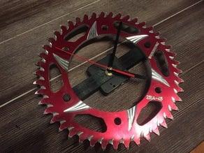 Motorcycle Sprocket Clock Conversion Bracket