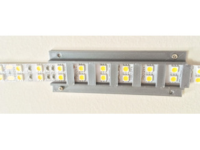 5050 LED double row mounting bracket