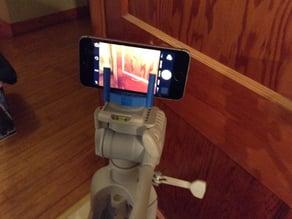 Simple iPhone Tripod Mount