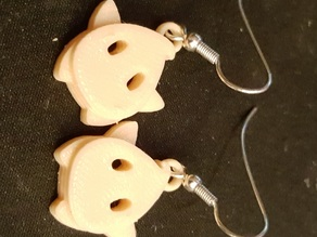 Luma (Wii Mario Galaxy) earring