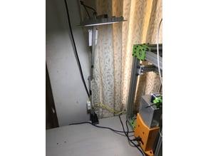 Arondite's desk clamp for a DIY desk lamp