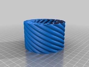 My Customized Customisable Spirograph Vase Generator