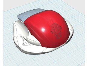 Ergonomic Magic Mouse by 3D Monkey(s) Lab.