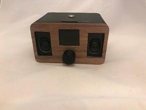 ESP32 Webradio Housing With Knurled Dial