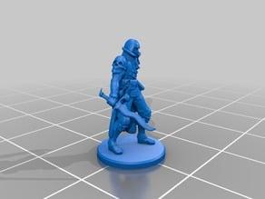 Humanoid Cultist Miniature 4