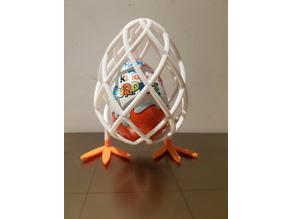 Standing egg for Kinder