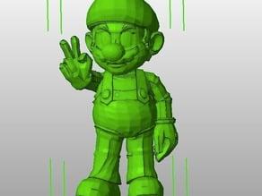 Mario (posed)