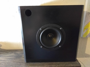 Bookshelf Speaker Box 4 Inch Driver