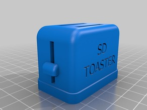 Toaster SD Card Holder