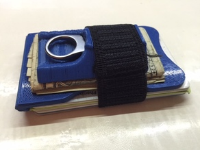 Minimalist Wallet with USB Drive Holder