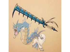 Gyarasol Blade (Gyarados and Absol combo blade)
