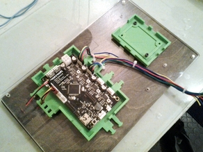 Extrudrboard Mount With Reliefs