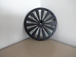 Parametric open-source chopper wheel