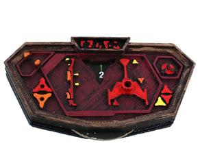 ST:AW Klingon D7/K'Tinga Cruiser Dial Case