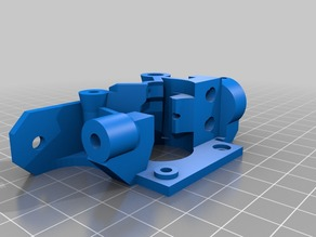 Airtripper extruder body for flex filament Va1